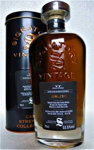 TORMORE 1988 EXCLUSIVE FOR GERMANY REFILL SHERRY BUTT 53,5% VOL SIGNATORY CASK STRENGTH COLLECTION