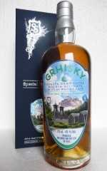 GRHISKY GRAPPA GRAN CUVÉE RISERVA FINISHED IN AN ISLAY WHISKY CASK 41% VOL SILVER SEAL