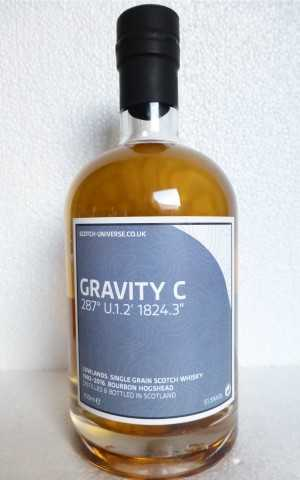 GRAVITY C 1992 BOURBON HOGSHEAD 51,5% VOL SCOTCH UNIVERSE