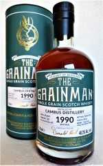 CAMBUS 1990 TRIPLE CASK 48,3% VOL THE GRAINMAN