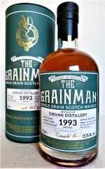 GIRVAN 1993 PORT CASK FINISH 55,5% VOL THE GRAINMAN