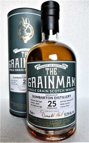 DUMBARTON 1992 BOURBON CASK 55,5% VOL THE GRAINMAN