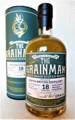 NORTH BRITISH 2000 BOURBON CASK 53,9% VOL THE GRAINMAN