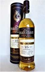GLEN MORAY 1993 BOURBON BARREL 48,7% VOL THE MALTMAN