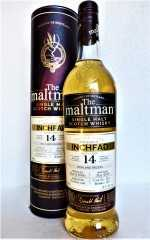 INCHFAD 2005 BOURBON CASK 52,1% VOL THE MALTMAN