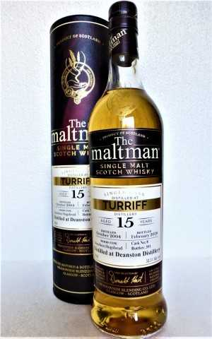 TURRIFF (DEANSTON) 2004 BOURBON HOGSHEAD 52,5% VOL THE MALTMAN