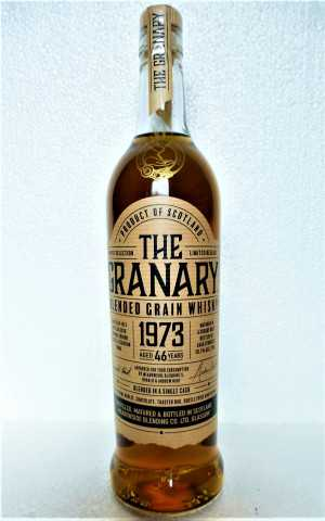 BLENDED GRAIN WHISKY 1973 SHERRY BUTT 46 JAHRE 50,1% VOL THE GRANARY