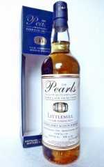 LITTLEMILL 1991 CASK STRENGTH 53,7% VOL  THE PEARLS OF SCOTLAND