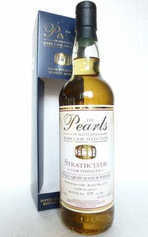 STRATHCLYDE 1988 CASK STRENGTH 55,5% VOL THE PEARLS OF SCOTLAND