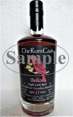 BELIZE SINGLE CASK RUM 2006 TRAVELLERS DESTILLERIE 11 JAHRE 63,2% VOL THERUMCASK SAMPLE