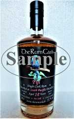 FIJI SINGLE CASK RUM 2001 SOUTH PACIFIC DESTILLERIE 18 JAHRE 55,7% VOL THERUMCASK SAMPLE