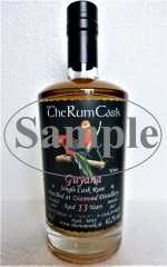 "GUYANA SINGLE CASK RUM 2004 ""WHITE"" DIAMOND DESTILLERIE 13 JAHRE 61,2% VOL THERUMCASK SAMPLE"