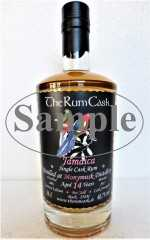JAMAICA SINGLE CASK RUM 2003 MONYMUSK DESTILLERIE 14 JAHRE 60,7% VOL THERUMCASK SAMPLE