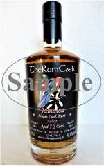 JAMAICA SINGLE CASK RUM 2005 WP DESTILLERIE 12 JAHRE 56,6% VOL THERUMCASK SAMPLE