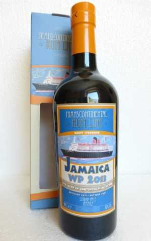 JAMAICA RUM WP 2013 NAVY STRENGTH 57% VOL TRANSCONTINENTAL RUM LINE