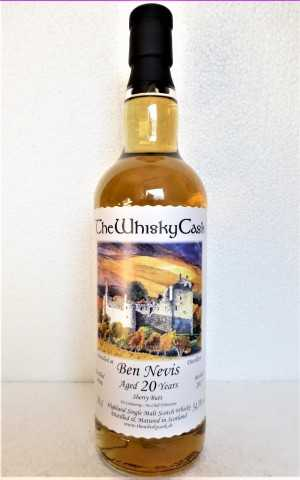 BEN NEVIS 1996 SHERRY BUTT 54,3% VOL THEWHISKYCASK