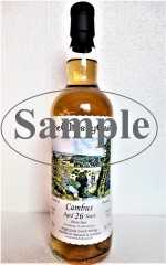 CAMBUS 1991 SHERRY BUTT 56,7% VOL THEWHISKYCASK SAMPLE