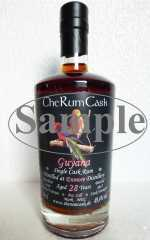 GUYANA SINGLE CASK RUM 1988 ENMORE DESTILLERIE 28 JAHRE 49,4% VOL THERUMCASK SAMPLE