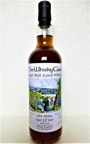 GLEN MORAY 2007 SHERRY CASK 53,3% VOL THEWHISKYCASK