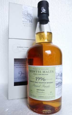 "GLENROTHES 1996 ""FENNEL FINALE"" SHERRY HOGSHEAD 46% VOL WEMYSS MALTS EXCLUSIVE FOR GERMANY"